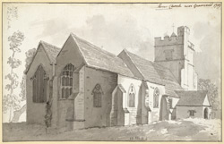 Shorne Church near Gravesend 1759